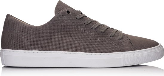OMNIO VELO SNEAKER ECO Microforo Grey Embossed Leather - 41