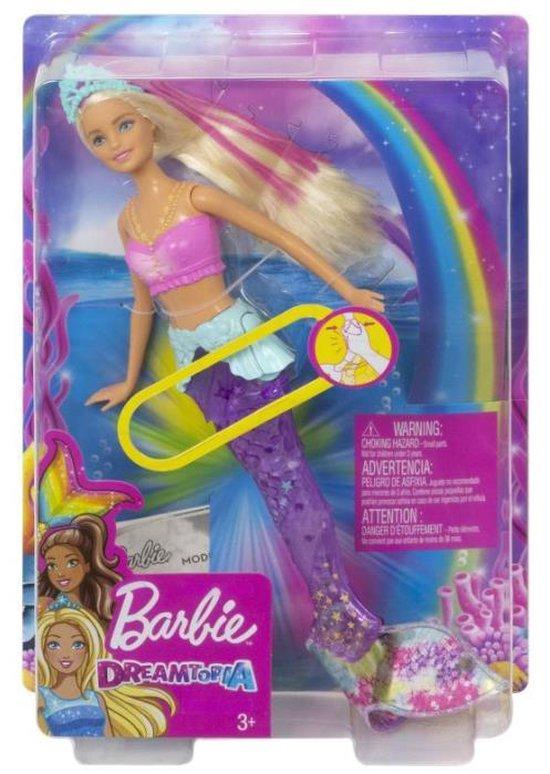 Barbie Dreamtopia Twinkelende Lichtjes Zeemeermin - Barbiepop