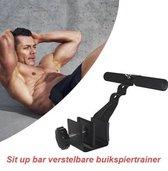 Fitness Sit up bar verstelbare buikspiertrainer (3 posities)
