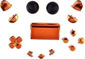 PS4 Controller Buttons Pro V2 Oranje Chrome