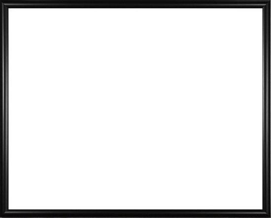 Homedecoration Biggy – Fotolijst – Fotomaat – 22 – 82 cm – Kunststof – Zwart mat