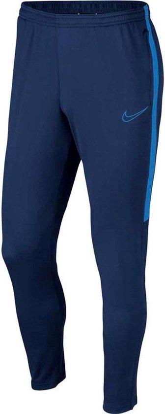 Nike Academy Trainingsbroek Broeken blauw donker L