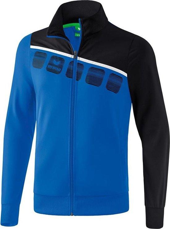 Erima 5-C Polyesterjack - Jassen  - blauw - 116