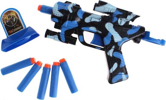 Toi-toys Foam Stike X Camouflage Pistool Met Darts 8-delig