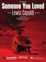 Boek cover Someone You Loved Sheet Music van Lewis Capaldi (Onbekend)