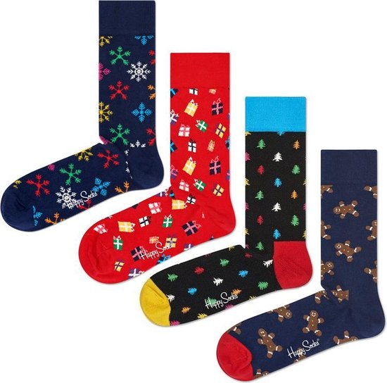 Happy Socks Gift Set Happy Holidays – Maat 41-46