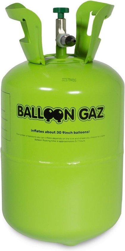 Helium tank - Incl. 30 ballonnen van 23cm - Balloongaz