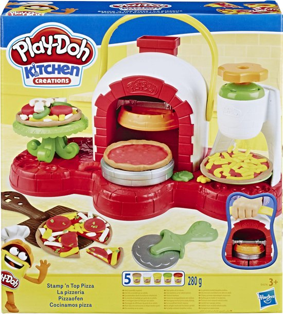 Afbeelding van Play-Doh Pizza Chef - Klei Speelset speelgoed