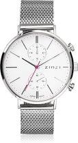 ZINZI Traveller horloge dual time - ZIW706M - gratis Zinzi armbandje