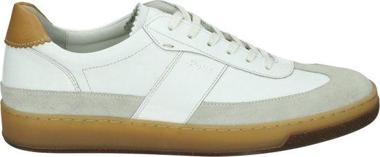 Sioux Mannen Veterschoenen Kleur: Wit/beige Maat: 45