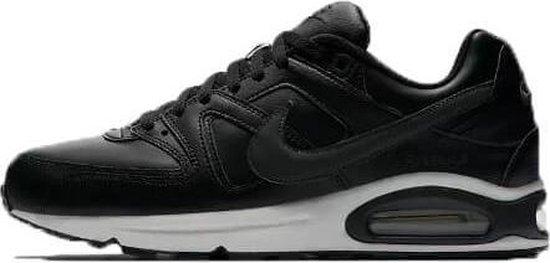 Nike Air Max Command Leather Heren Sneaker  - zwart/antraciet - maat 45