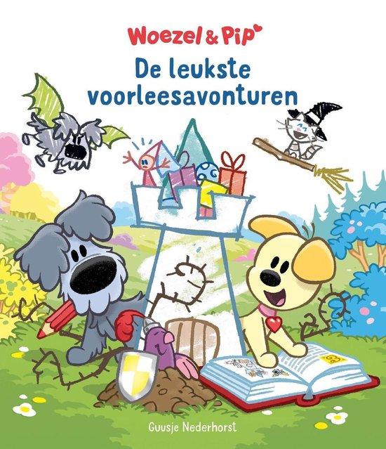 Boek cover Woezel & Pip - De leukste voorleesavonturen van Guusje Nederhorst (Binding Unknown)