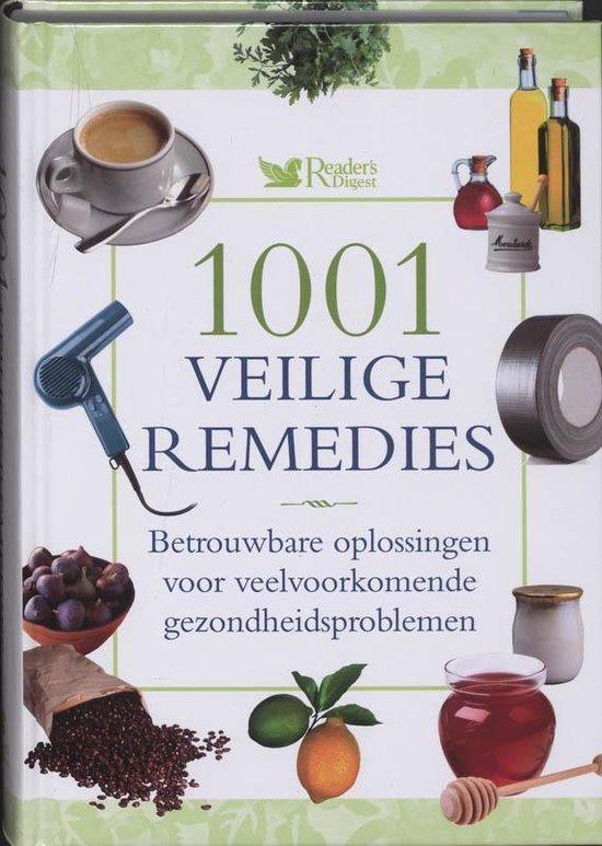 Cover van het boek '1001 veilige remedies'