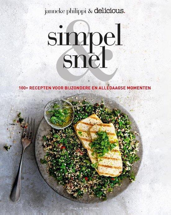 Boek cover Simpel & snel van Janneke Philippi (Hardcover)