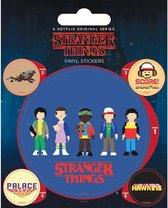 Stranger Things set vinyl stickers