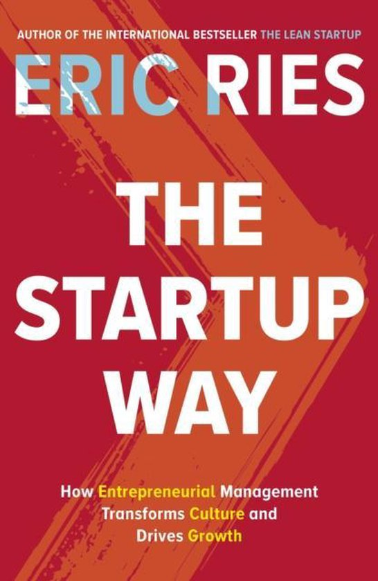 Boek cover The Startup Way van Eric Ries (Paperback)