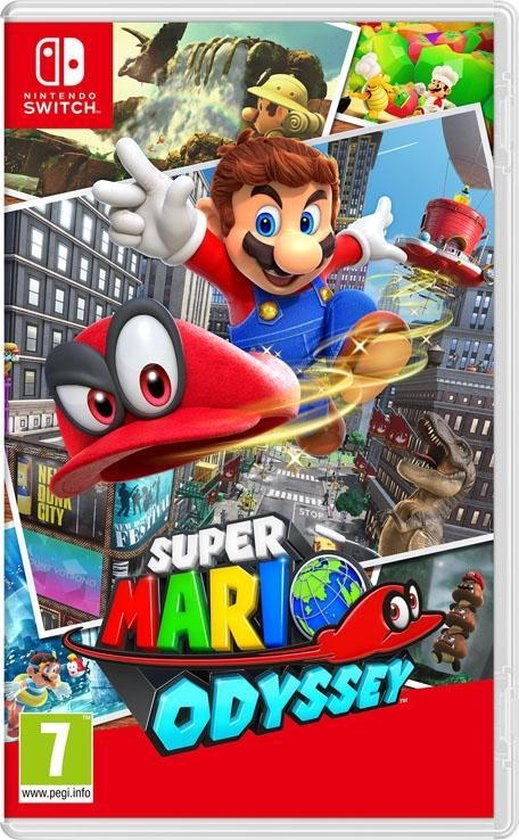 Cover van de game Super Mario Odyssey - Nintendo Switch