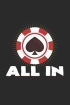 All in: 6x9 Poker - dotgrid - dot grid paper - notebook - notes