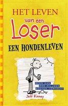 Boek cover Het leven van een Loser 4 -   Een hondenleven van Jeff Kinney (Paperback)