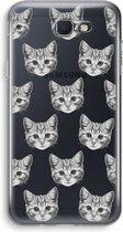 Samsung Galaxy J5 (2017) Prime Transparant Hoesje (Soft) - Kitten