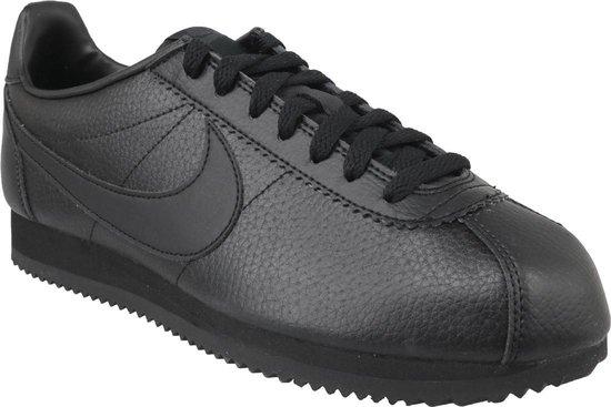 Nike Cortez Classic Leather 749571-002, Mannen, Zwart, Sneakers maat: 42 EU