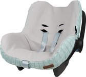 Baby's Only hoes autostoel Maxi Cosi kabel teddy mint