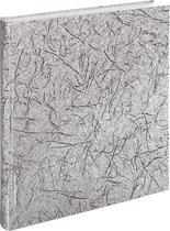 """Hama """"Caracas"""" bookbound huwelijksalbum, 29x32cm 50 witte pagina's, zilver"""