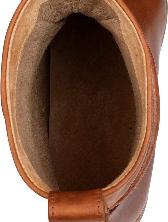 NoGRZ L.leVau - Dames enkellaars - 55cm blokhak - Cognac - Maat 36 7cEMvbk4