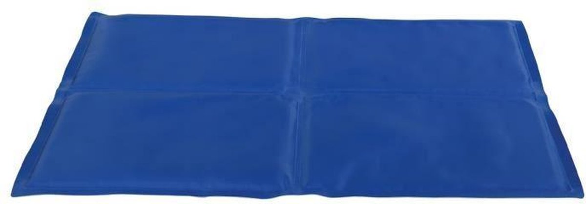 Trixie koelmat blauw 90x50 cm