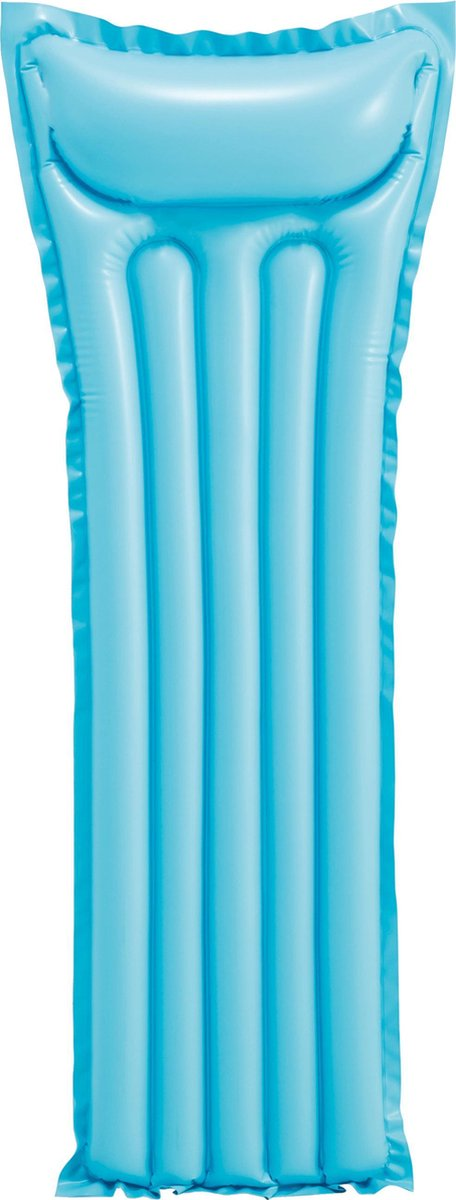 Basic luchtbed 183 cm - blauw