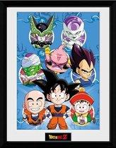 DRAGON BALL Z - Collector Print 30X40 - Chibi Characters
