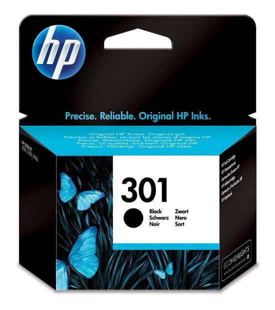 HP 301 - Inktcartridge / Zwart