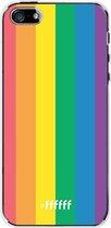 iPhone SE (2020) Hoesje Transparant TPU Case - #LGBT #ffffff