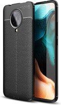 Just in Case Soft TPU hoesje voor Xiaomi Poco F2 Pro - Zwart