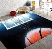 Herms-NBA Basketball 9-Vloerkleed -Antislip -150x230 cm