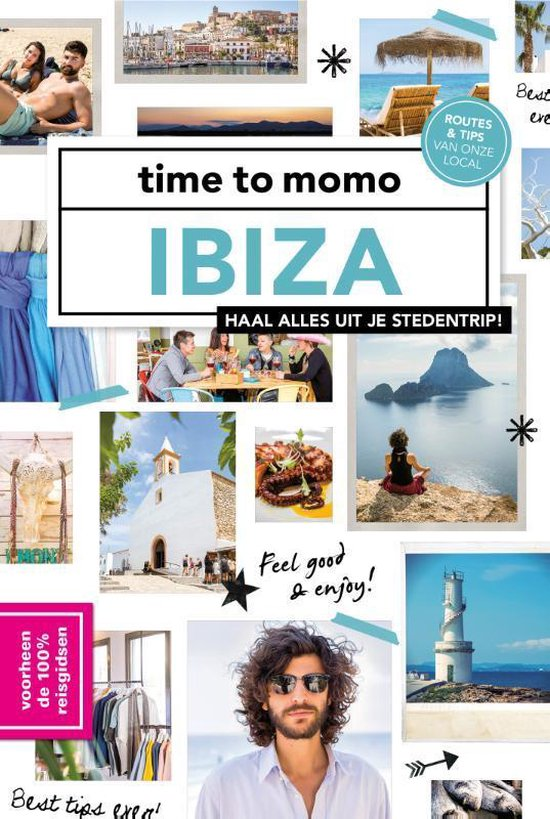 Boek cover Time to momo  -   Ibiza van Juliette Somers (Paperback)