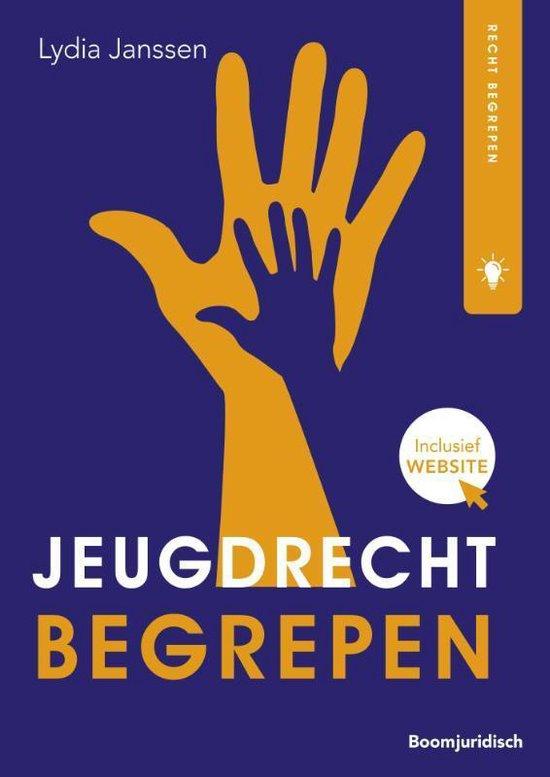 Boek cover Jeugdrecht begrepen van Lydia Janssen (Paperback)
