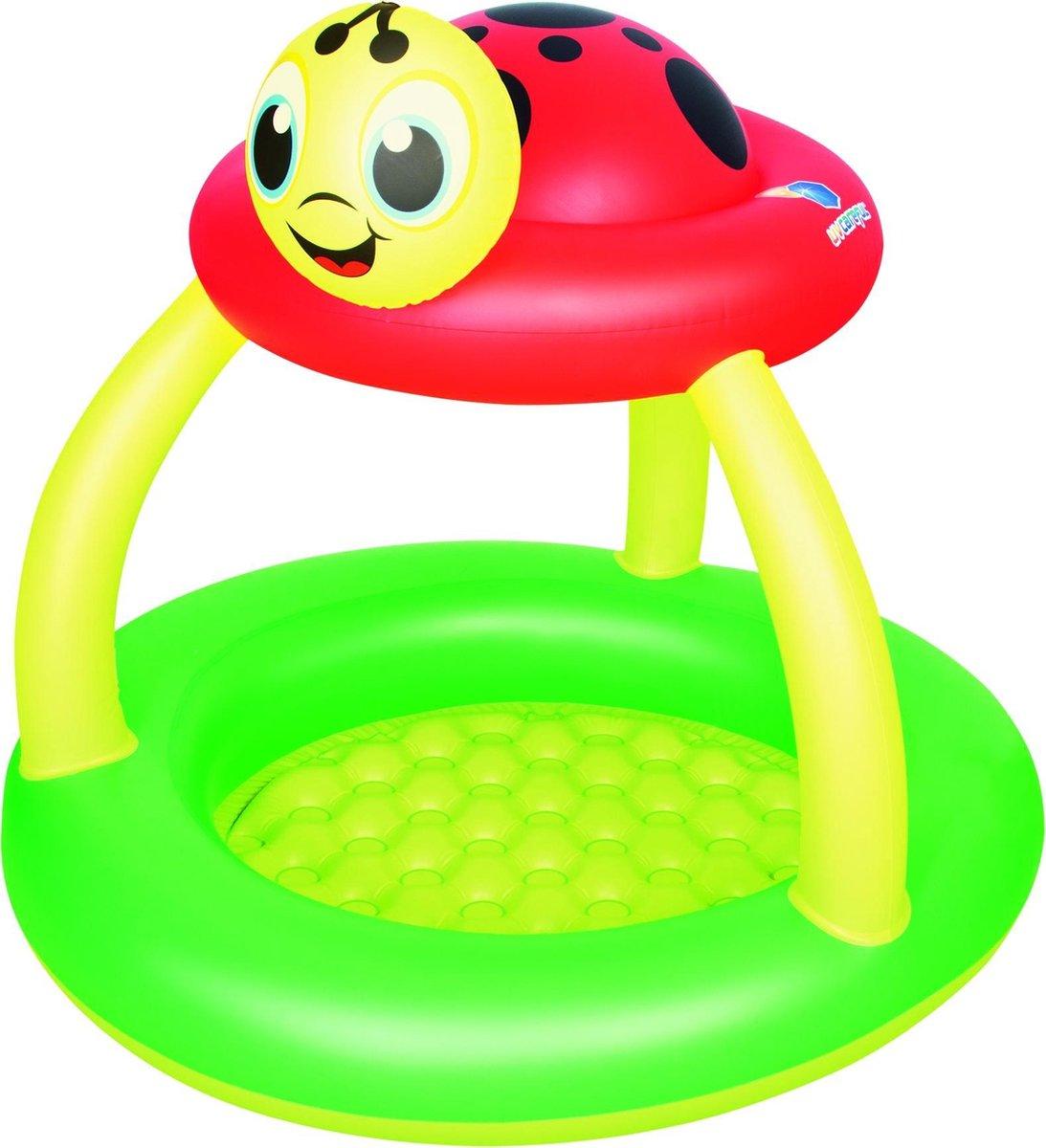 Bestway Lady Bug Sun Shade Pool Zwembad - Φ91cm x H84cm