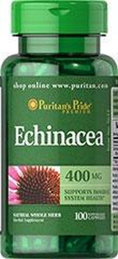 Puritan's Pride Echinacea 400 mg 100 Capsules 5633