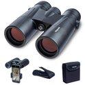 LifeGoods 10x42 Verrekijker - Compacte Set met Smartphone Adapter, Lensdoppen, Nekkoord en Draagtas