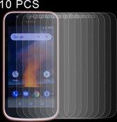 Let op type!! 10 stuks 0 26 mm 9H 2.5D getemperd glas Film voor Nokia 1