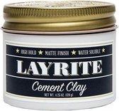 Layrite Cement Hair Clay - 113 ml - Wax -
