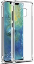 Teleplus Huawei Mate 20 Pro Shock Proof Silicone Case Transparent hoesje