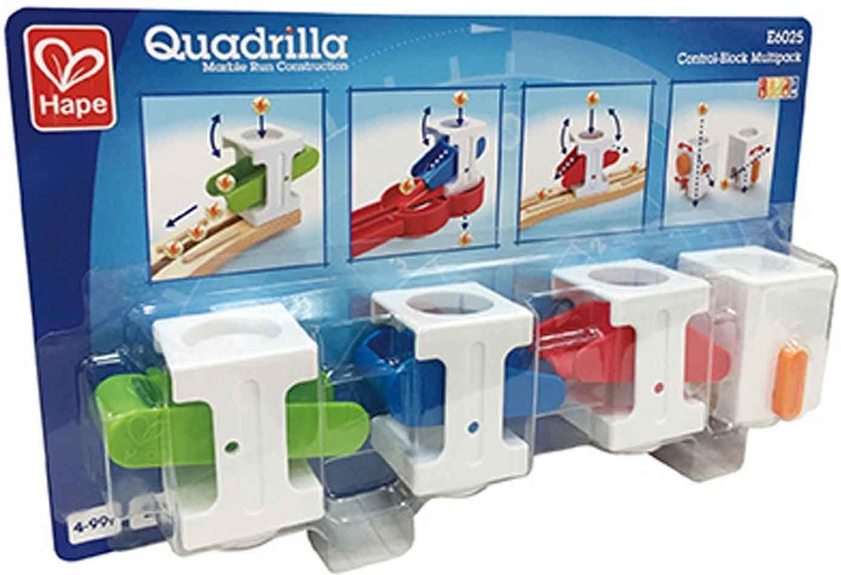 Hape Quadrilla Besturingsblokken 4 Stuks