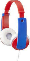 JVC HA-KD7RE - On-ear kids koptelefoon - Rood