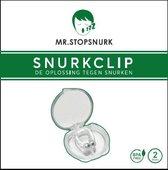 MRSTOPSNURK Anti Snurk Clip - Neusspreider - 2 Stuks