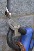 Steiger op slot tegen diefstal: SpouwVast herbruikbaar muuranker 8mm V2 + SlotAdapter
