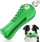 Honden speelgoed -Krokodil -Geschikt voor kleine en middelgrote honden- Tanden schoonmaken- Kauwen- Met baconsmaak