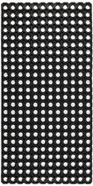 1x Ringmat Flexibel Domino Rubber - 100x50cm - buitenmat - binnenmat - deurmat