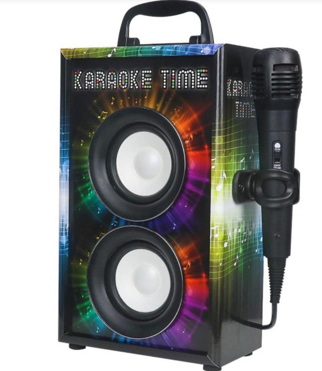 Karaoke set met bluetooth - speakers met  geluid -karaoke set - muziek- gezelschap-top cadeau